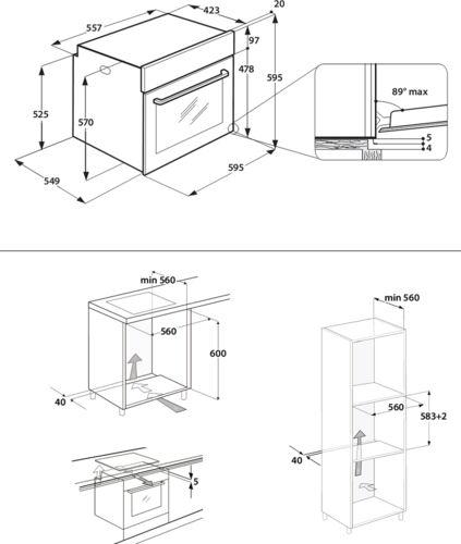 Духовой шкаф Hotpoint-Ariston FA5 844 JH IX HA